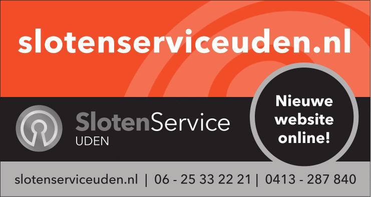 Slotenservice Uden website
